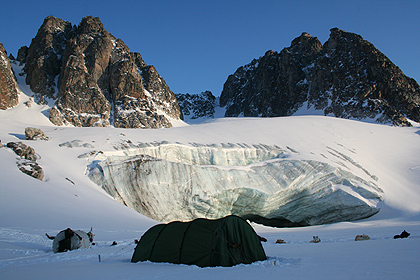 Camp in Liverpoolland, image by Nanu Travel
